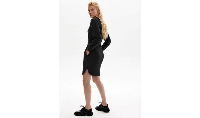 Платье черное Бурматиков