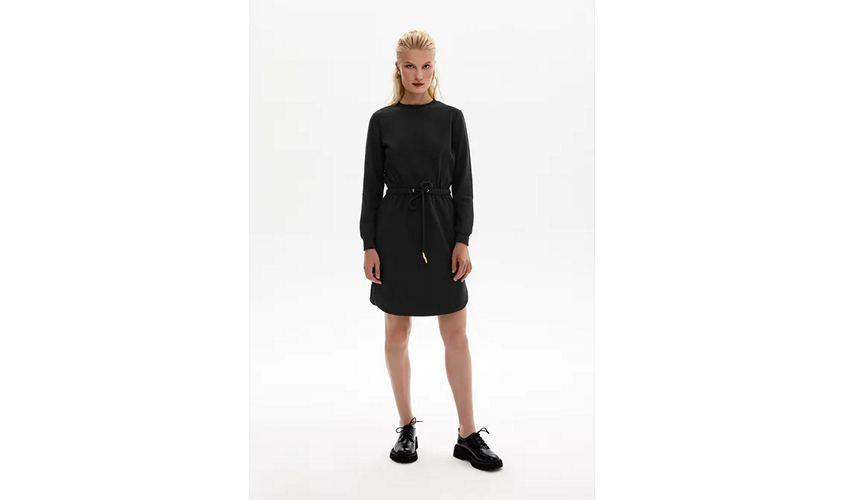 Платье Бурматиков черное